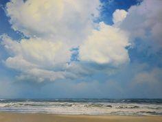 Hoe schilder ik: ´Noordzee brekers´ How to paint :'North Sea  Breakers'  Janhendrik Dolsma