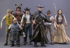Western Star Wars - custom action figures