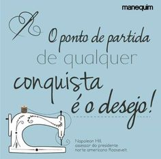 Desejo de aprender. Sewing Quotes, Message Quotes, Vintage Typography, Magic Words, Love Sewing, Sewing Notions, Optimism, Word Art, Sentences