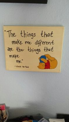 Winnie the Pooh - canvas painting