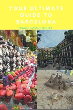 YOUR ULTIMATE GUIDE TO BARCELONA SPAIN PRESENTED BY BIGWORLDADVENTURES.NET  EVERYTHING YOU NEED TO KNOW!!! Europe Destinations, Amazing Destinations, Travel Europe, States In America, United States, Travel Guides, Travel Tips, Barcelona Travel Guide, Barcelona Spain