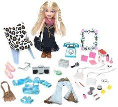 Amazon.com : Lil' Bratz Fashion Tote: Cloe : Fashion Doll Playsets : Toys & Games