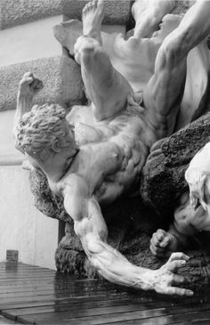 Fountain by Edmund Hellmer - Vienna Austria (detail)