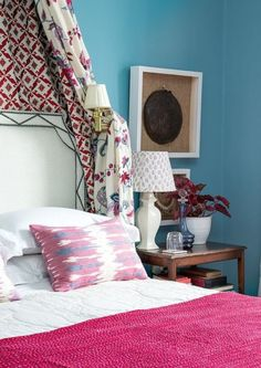 Gorgeous guest bedroom in Jessica Buckley's Edinburgh flat!...