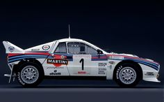 Lancia 037. Last rear-wheel driven car to win the world championship ('83). Gorgeous to this day.