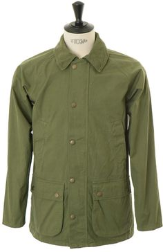 Barbour Made for Japan Overdyed SL Bedale - Olive