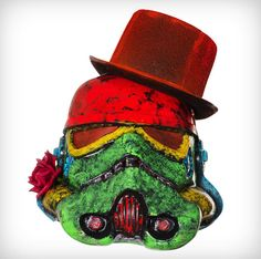 Art Wars, Famous Artists Redesign 'Star Wars' Stormtrooper Helmets