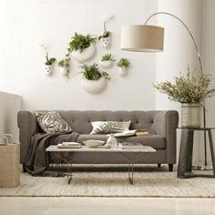 ceramic wall planters - Decoist