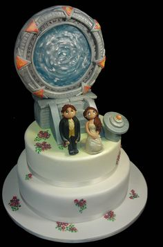 creative cake art wedding cakes  STARGATE 51590 by www.creativecakeart.com.au, via Flickr