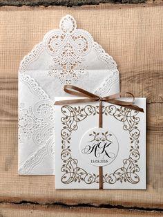 Zaproszenia ślubne rustykalne 32/rst/z Wedding Inspiration, Wedding Ideas, Birthday Cards, Wedding Invitations, Decorative Boxes, Gifts, Pink, Mexico, Weddings