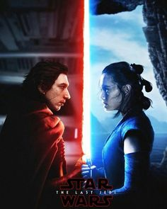 Kylo Ren & Rey Star Wars: The Last Jedi