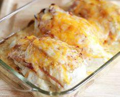 Recette de poulet gratiné à la sauce ranch (extra bacon)