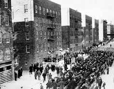 "The dedication of New York City's ""First Houses"" in 1935"