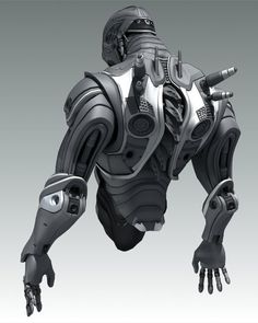 Very nice looking robot looking armour. Would work well on a futuristic character. Zbrush, Robot Concept Art, Armor Concept, Suit Of Armor, Body Armor, Robot Ninja, Armadura Cosplay, Game Art, Arte Robot