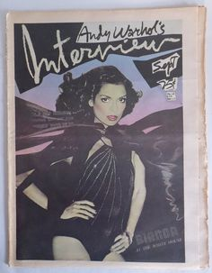 EPIC Issue Andy WARHOL Interview Magazine Sep 1975 by EmporioX Andy Warhol, Jack Ford, Bianca Jagger, Studio 54, House And Home Magazine, After Dark, Art World, Van Gogh, Magazine Covers