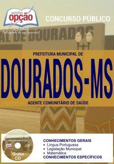 Promoção -  Apostila Concurso Dourados MS - Vários Cargos  #Aprovado
