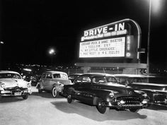The History of the Drive-In Movie Theater Drive In Movie Theater, Movie Drive, Movies Under The Stars, American Stock, First Drive, Dream Life, Aesthetic Pictures, Great Rooms, Corona