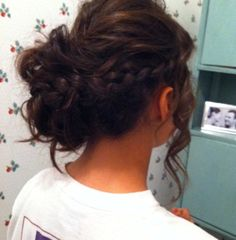 Prom Hairstyles for Long Hair: Braided Updo
