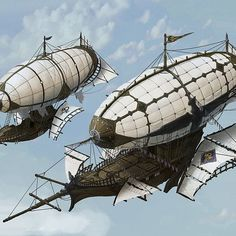 Safari Steampunk Anyone? Steampunk is a rapidly growing subculture of science fiction and fashion. Fantasy Town, Sci Fi Fantasy, Fantasy World, Steampunk Ship, Arte Steampunk, Flying Ship, Mortal Engines, Fantasy Setting, Environment Concept