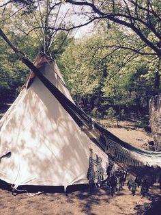 teepee and hammock life