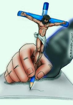 M.REDONDO- Comics: * El CRISTO del Dibujante