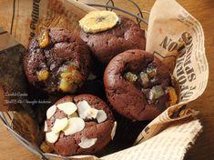 【 小さなガトーショコラマフィン 】濃厚なチョコ菓子が食べとぅぁいっっ…(۳˚Д˚)۳!!!!と言うことで。本日は、チョコレートなおやつ✨一見チョコマフィンの様だけどとろけるガトーショコラと同じ生地を使って、小さなガトーショコラにしてみま