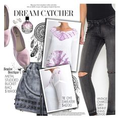"""""""Dream Catcher"""" by seaside-boutique ❤ liked on Polyvore featuring Azura, Jimmy Choo, Topshop, women's clothing, women's fashion, women, female, woman, misses and juniors"""