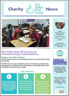 The Pilot Club of Lucaya is Transforming Communities