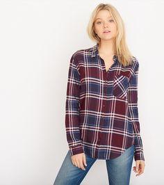 The Super Soft Plaid Shirt