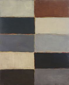 sean scully - grey fold, oil on canvas (2005).