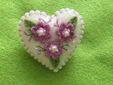 Handmade Felt Brooch Floral Design - Mother's Day Gift