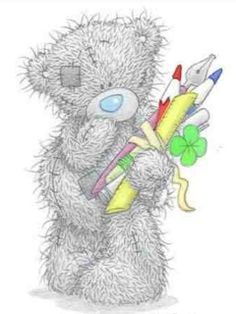 tatty teddy bear wallpaper