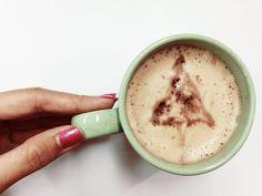 Say hai  for #christmas and your #coffee