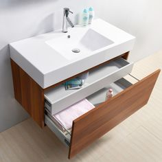 Virtu USA Zuri 39-inch Single-sink Bathroom Vanity Set - Overstock Shopping - Great Deals on VIRTU Bathroom Vanities