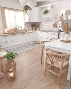 41 Beautiful Kitchen Ideas & Designs In Your Home Decoration - Lily Fashion Style Home Design, Küchen Design, Home Interior Design, Salon Design, Interior Plants, Home Decor Kitchen, Kitchen Interior, Home Kitchens, Kitchen Ideas