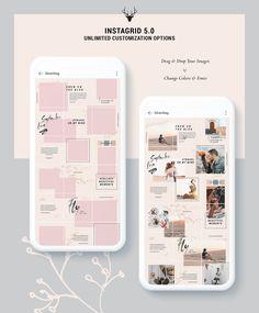 Befitting Modern How To Photoshop Double Exposure Instagram Design, Muro Instagram, Instagram Feed Layout, Feeds Instagram, Instagram Grid, Instagram Post Template, Instagram Posts, Instagram Mosaic, Insta Posts