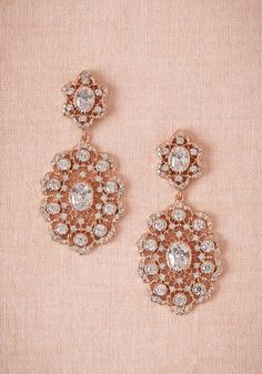 Pretty Rose Gold Chandeliers