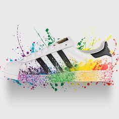 Few things are better than being original. One is being proud of who you are. Be both with this week's #kickoftheweek: #adidasOriginals Pride Pack #Superstar. A portion of the proceeds will go to New Avenues for Youth. Available now online and at select #adidasOriginals locations.