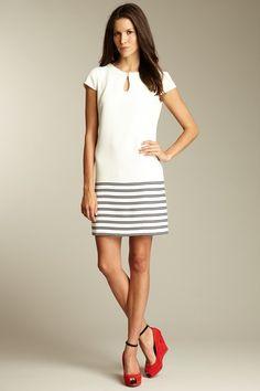 striped dress. love love love.