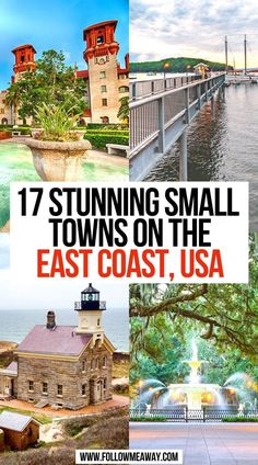 17 Stunning Small Towns On The East Coast, USA   Cutest Small Towns On The East Coast   small towns east coast   best small towns on the east coast   small towns on the east coast   best small towns east coast   best small beach towns east coast   small east coast beach towns   east coast vacation ideas   cutest towns on the east coast   cutest east coast towns   prettiest places on the east coast   best east coast small towns   small east coast beach towns   #eastcoast #smalltowns #travel