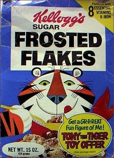 #kellogs  #cereal #retro Tony The Tiger Toy Offer