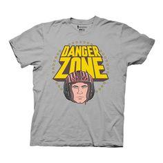 Archer Danger Zone Gray T-Shirt