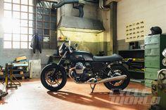 2015 Moto Guzzi V7 II - Dark Rider Kit