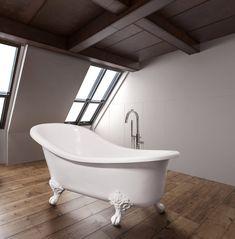 sophia slipper bathtub - ULIA bathware by DADOquartz® Modern Spaces, Clawfoot Bathtub, Slippers, Pure Products, Bathroom, Luxury, Diy, Washroom, Bricolage