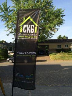 Construction Kevin Gingras - Flag HIT