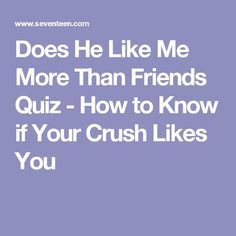 Find out who likes you quiz