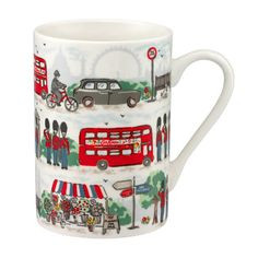 London Streets Grace Mug | Cath Kidston |  .....................................Please save this pin.   ............................................................. Click on this link!.. http://www.ebay.com/usr/prestige_online