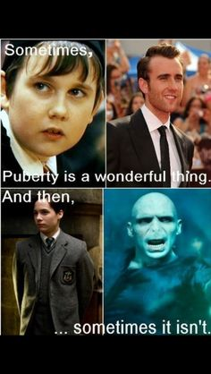 Hahaha.... Yes, it was awful for Voldemort
