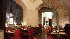Hotel Brunelleschi: Osteria della Pagliazza is a laidback alternative to restaurant Santa Elisabetta.