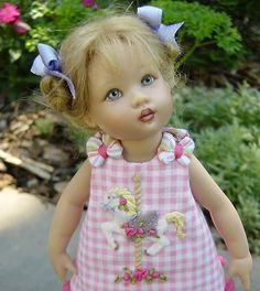 doll dress inspiration by scientific seamstress via welovefrenchknots.com